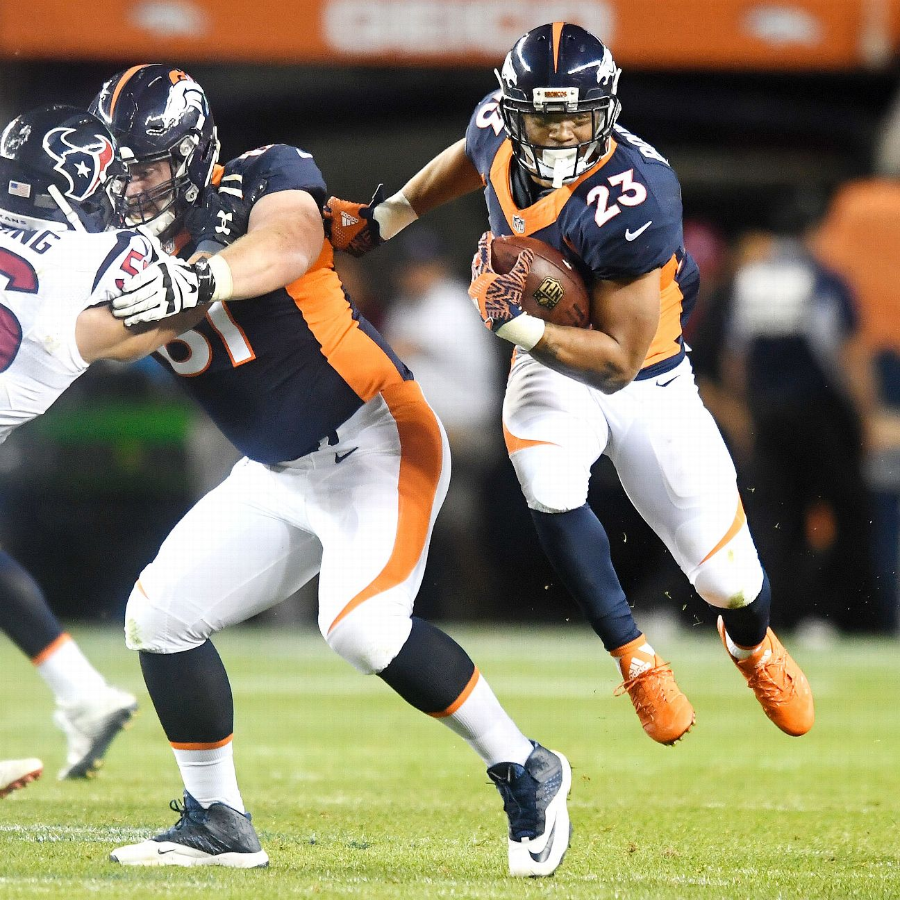 Broncos Have To Decide If Devontae Booker Kapri Bibbs Are