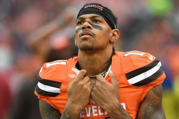 Giants motivate Terrelle Pryor by saying they're not impressed