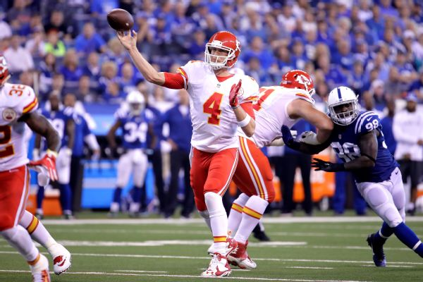 Nick Foles to start for Chiefs on Sunday