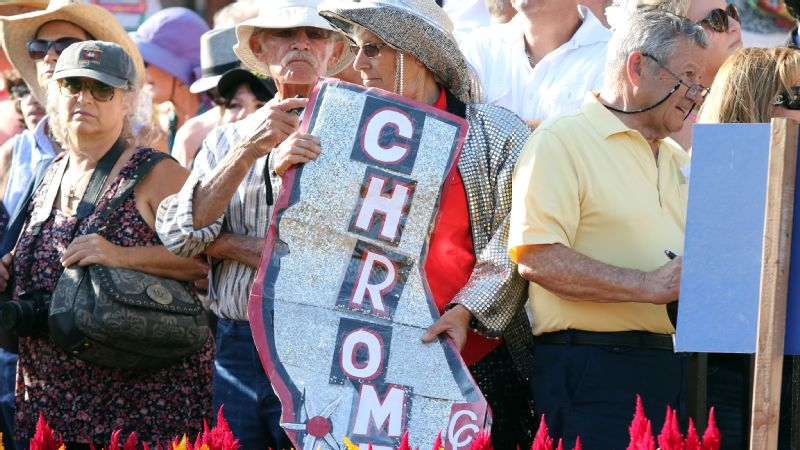 Racehorse California Chrome has amassed an unprecedented fan base, composed of mostly women.