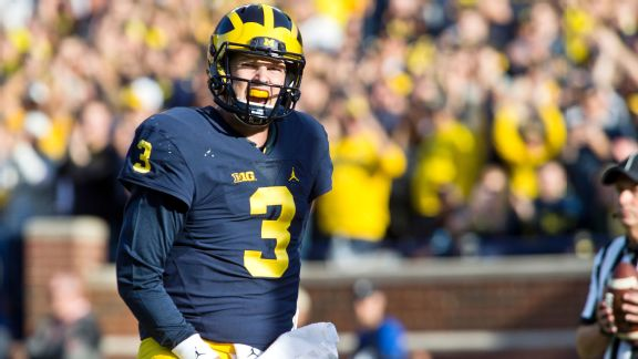 Michigan's Wilton Speight