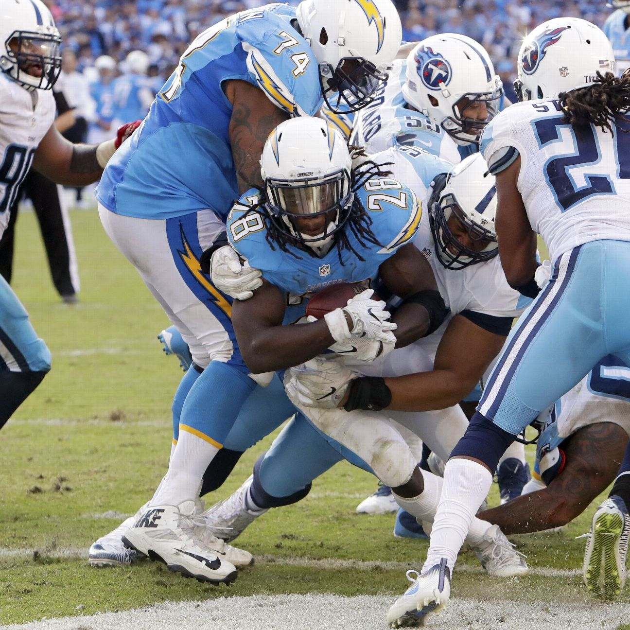 San Diego Chargers Blog: Melvin Gordon, Playmaking Defense Carry Chargers To Win