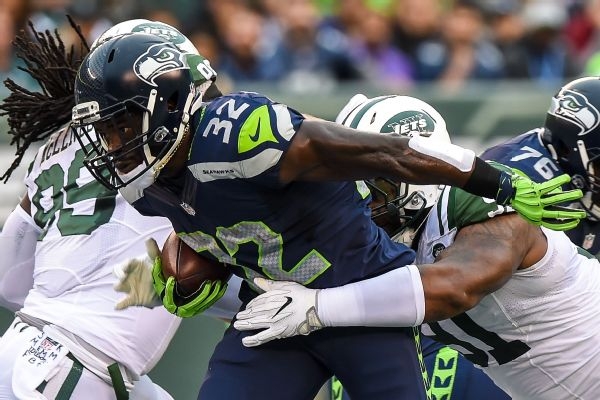 Seattle Seahawks Waive RB Christine Michael