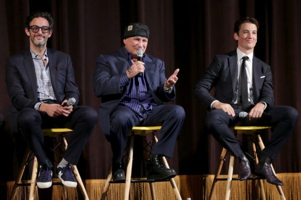 Ben Younger, Vinny Paz and Miles Teller