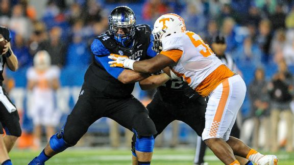 UK Left Tackle Cole Mosier will Miss the 2017 Football Season