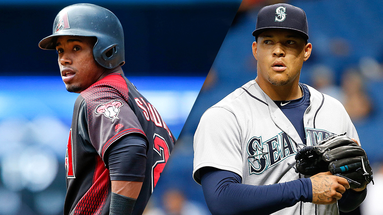 Jean Segura and Taijuan Walker