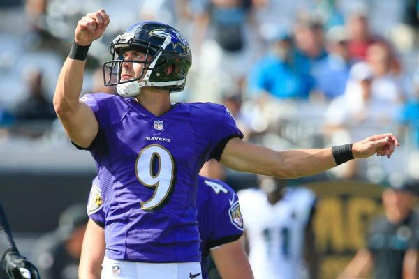 Ravens' Justin Tucker backs idea of 'reward' for kickoffs that split uprights
