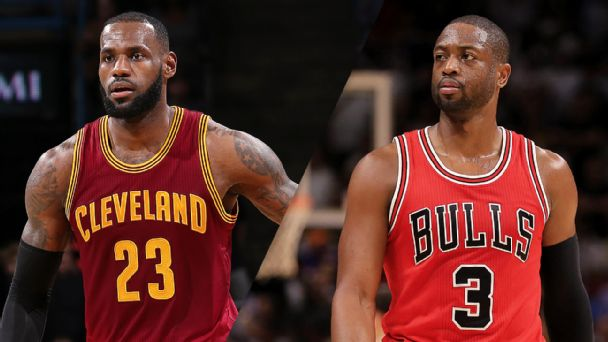 LeBron: Not going to look back on four-year run with Dwyane Wade