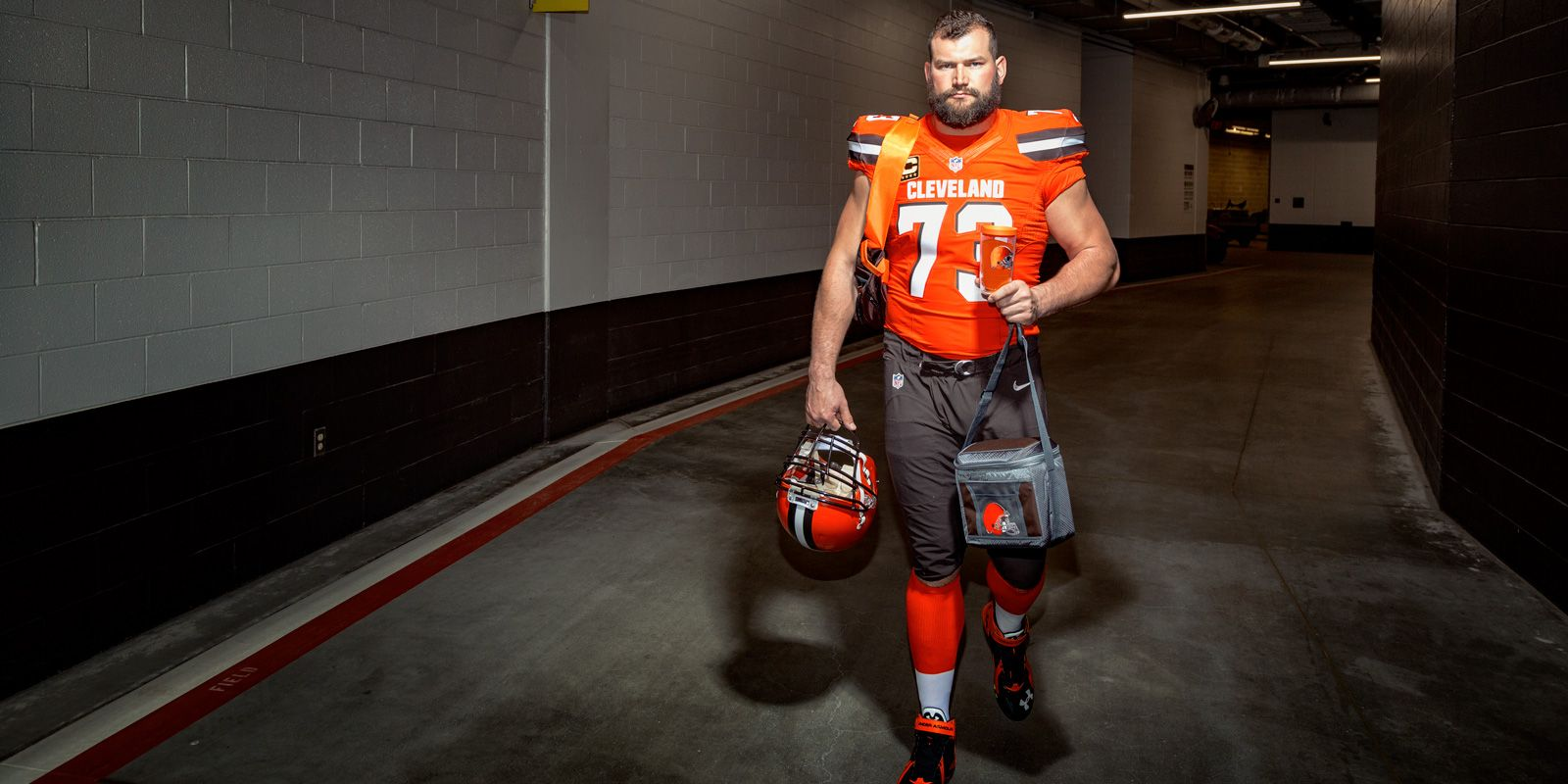 Cleveland Browns Joe Thomas 9 684 straight shifts in the Factory