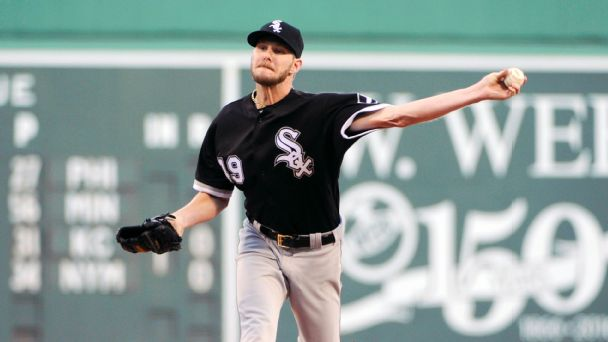 Red Sox go all-in for 2017 with Chris Sale stunner
