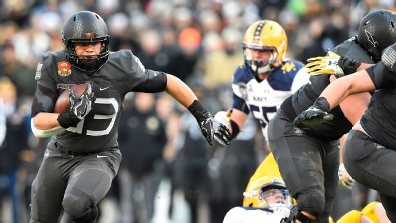 Army fullback Darnell Woolfolk in his words