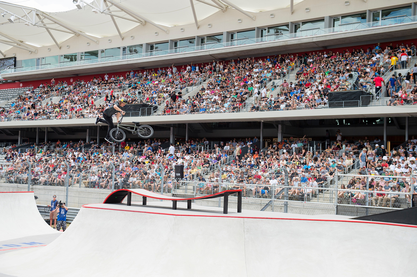 Enarson finally takes gold in BMX Park