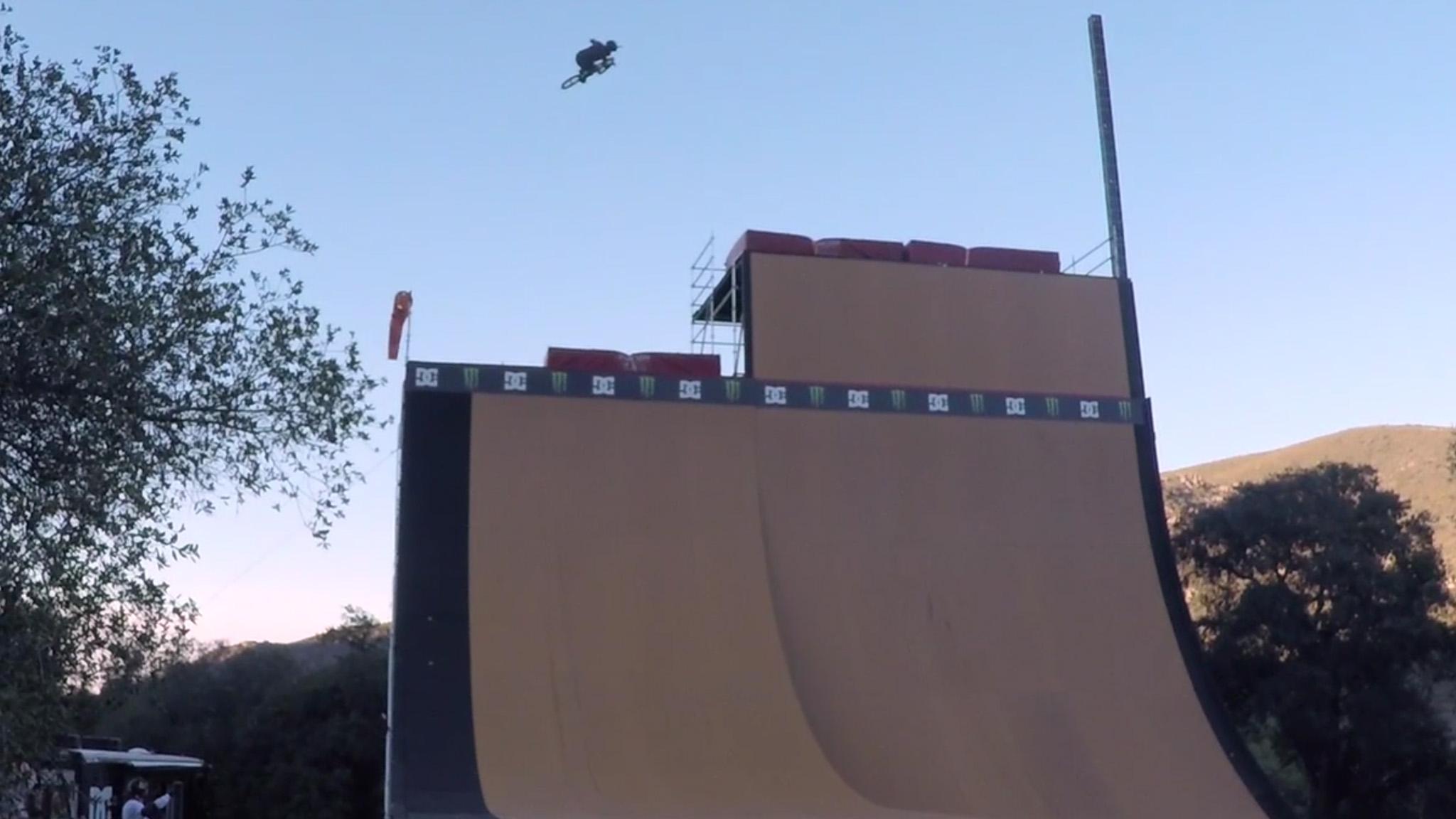 Hoffman high air on Way's ramp