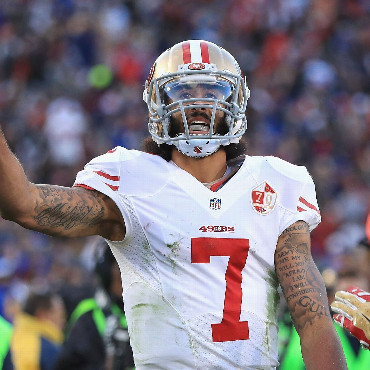 Baltimore Ravens' team leaders say Colin Kaepernick would ...