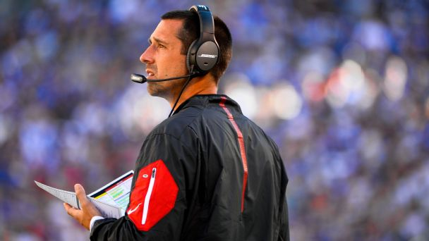 Sources: 49ers to offer Kyle Shanahan HC job