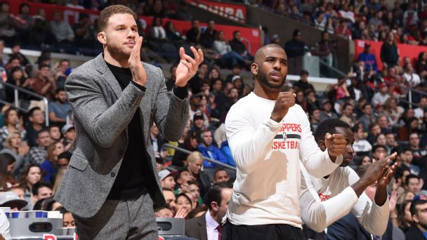 Follow live: Clippers play first game without Paul