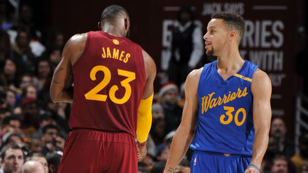 Follow live: Warriors dominating Cavs