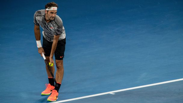 Follow live: Federer wins close first set
