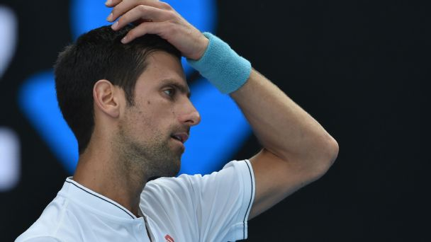 Djokovic ousted in five sets Down Under
