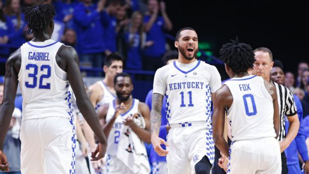 Follow live: Kentucky gains early lead over South Carolina