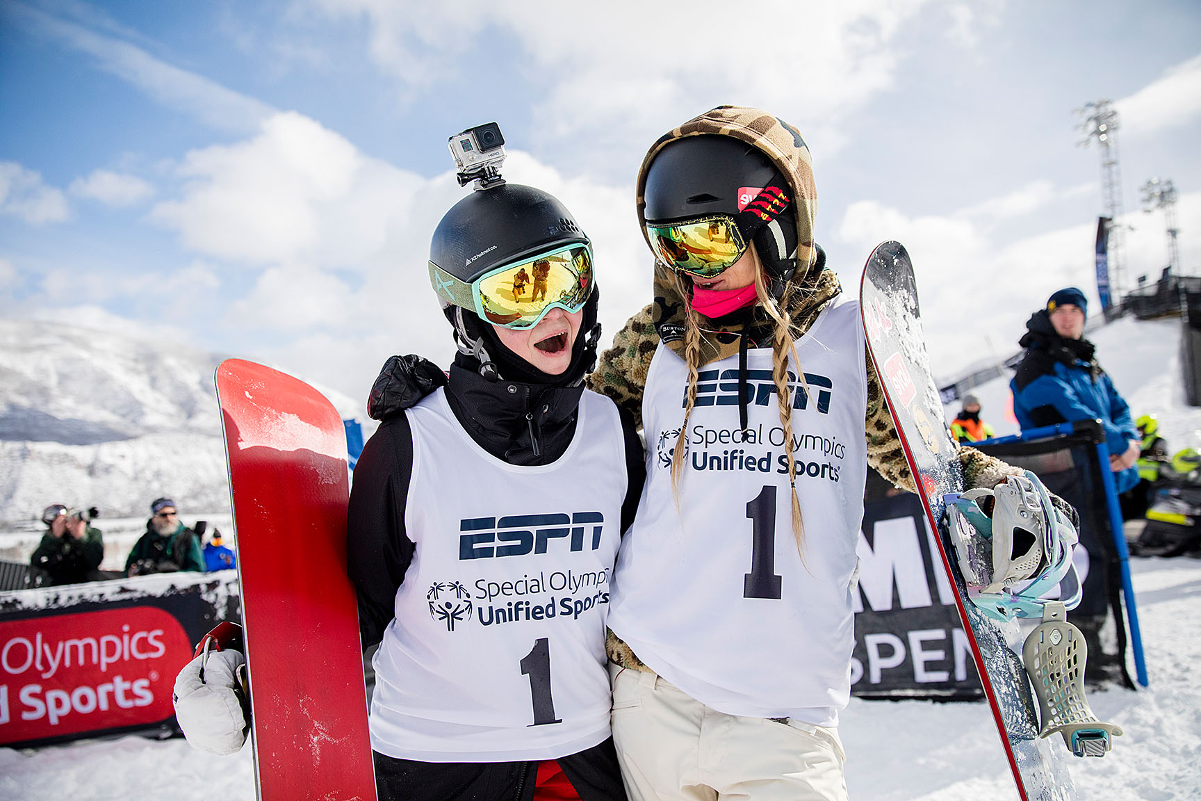 Special Olympics Unified Snowboarding