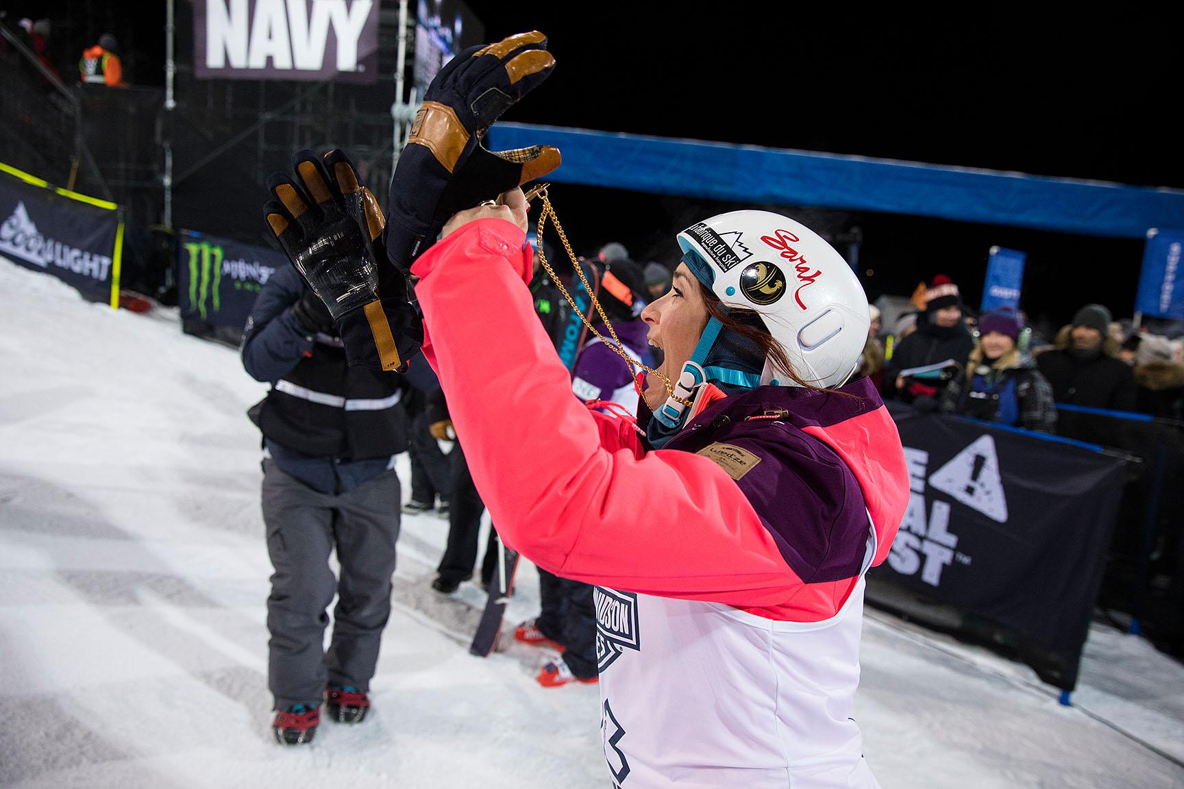 Marie Martinod, Women's Ski SuperPipe