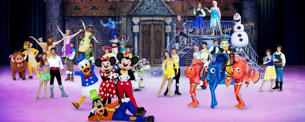 Competitive figure skaters from around the world have gone on to perform in Disney on Ice shows.