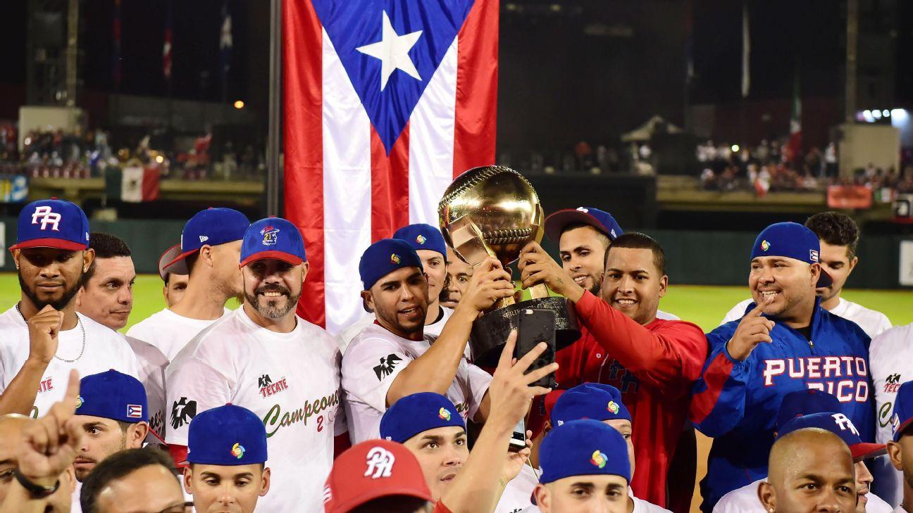 RONALDO SCHEMIDT AFP Getty Images Puerto Rico saldrá en el 2018 en  Guadalajara a defender el cetro del Caribe conquistado en Culiacán en el  2017. 86e99ccf590c5