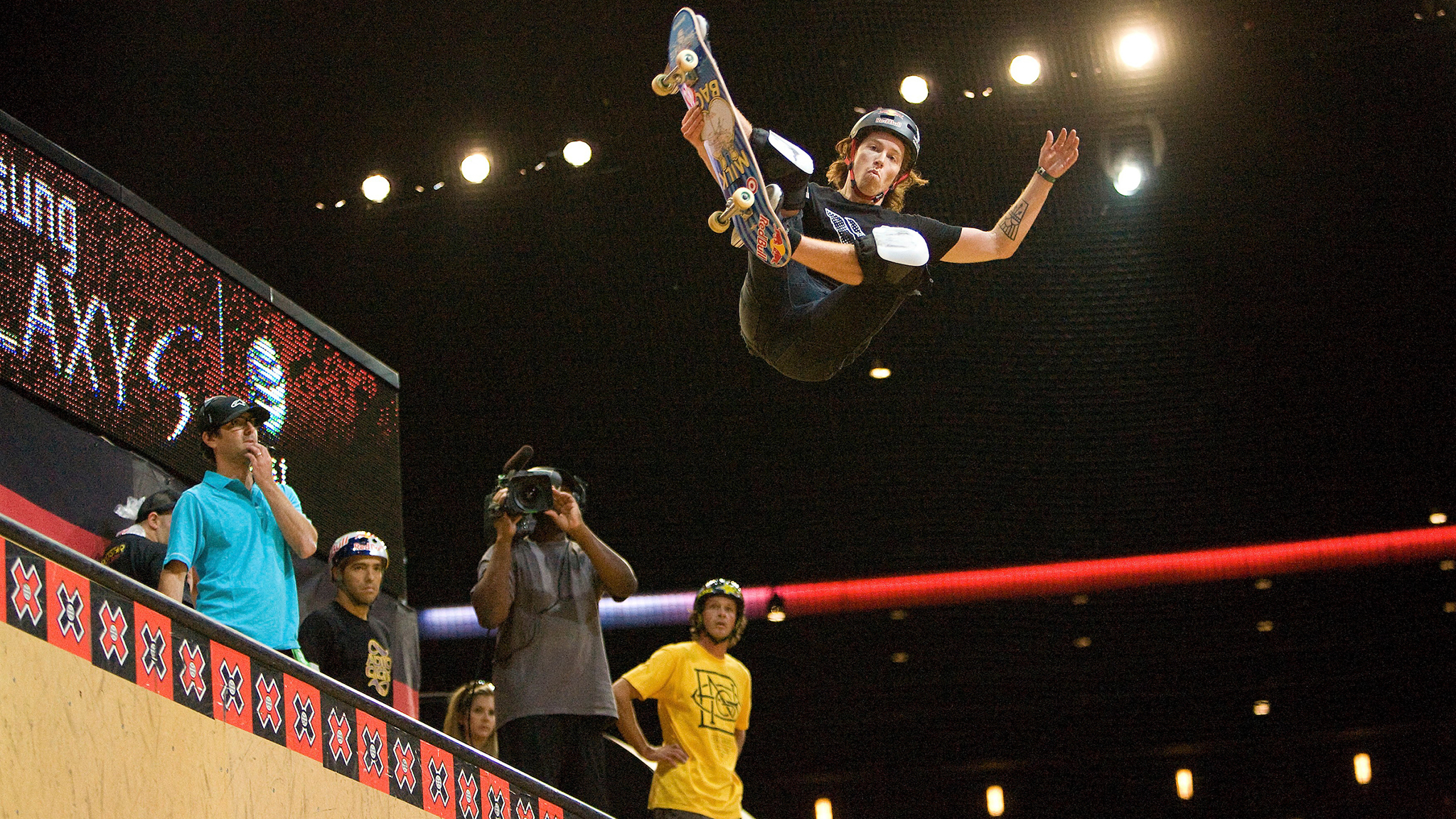 In 2011, Shaun White took gold in Skateboard Vert at X Games 17. In 2020, White is eyeing up an invite to skate park at the Olympics.