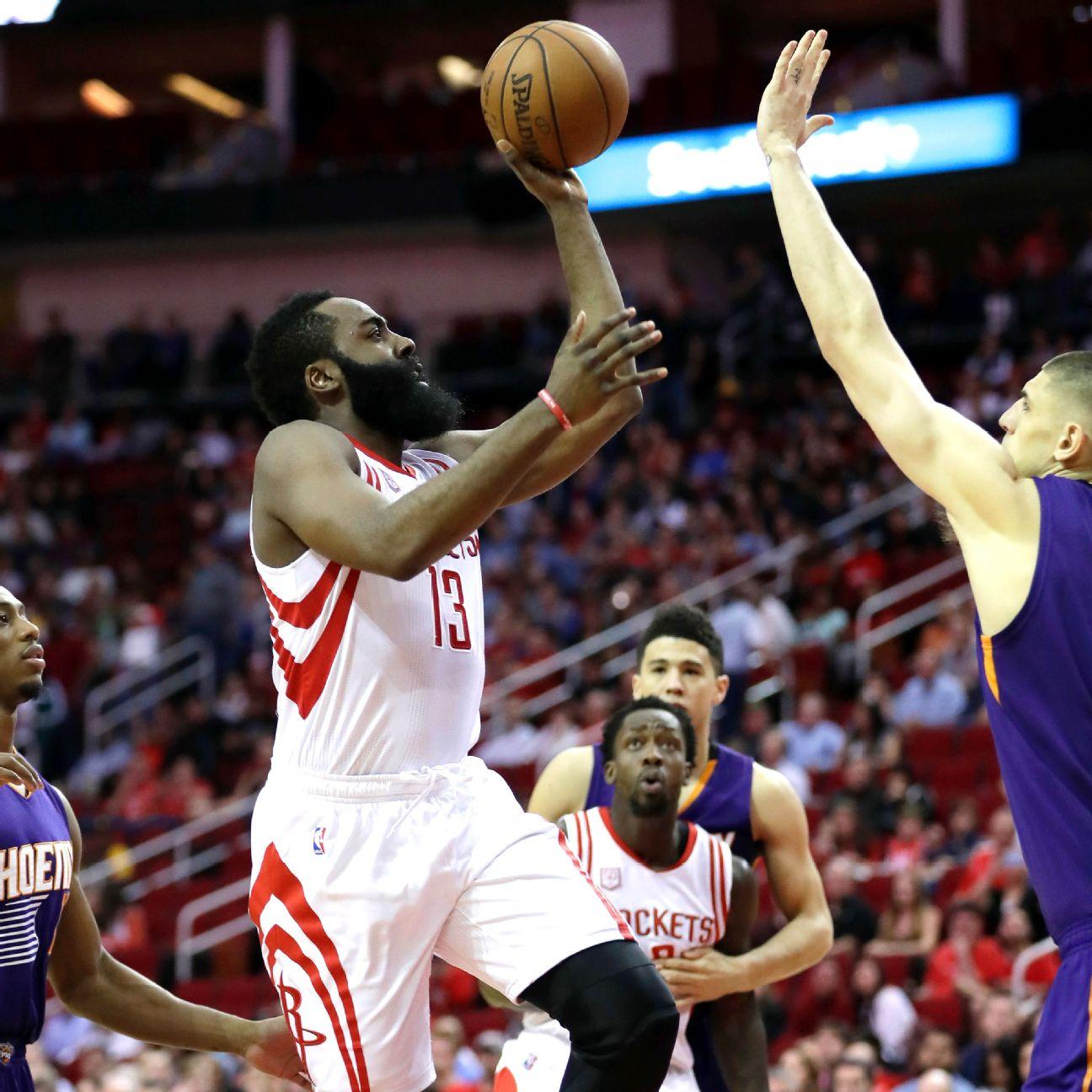 Houston Rockets Win Last Night: 40 For 40: James Harden Backs Houston Rockets' Milestone