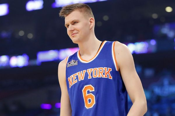 After tweet about Clippers, Kristaps Porzingis says account hacked
