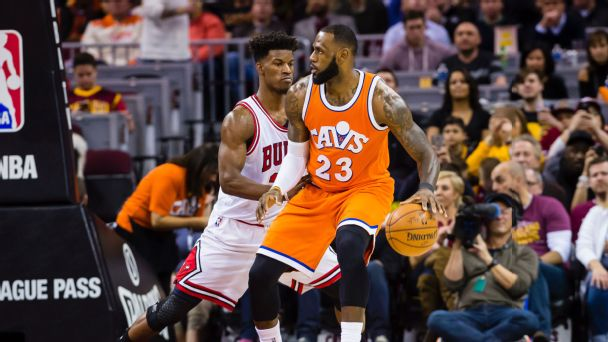 LeBron James and Jimmy Butler