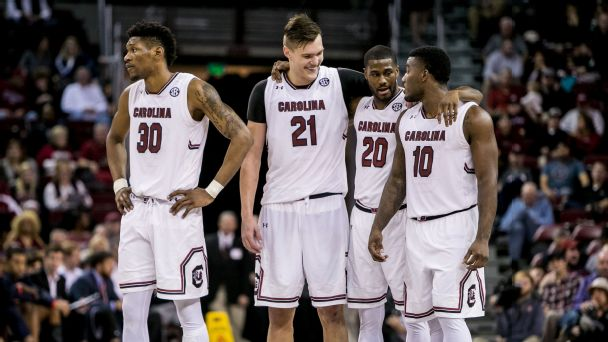 Bubble Watch: Is South Carolina a sure thing for the SEC?