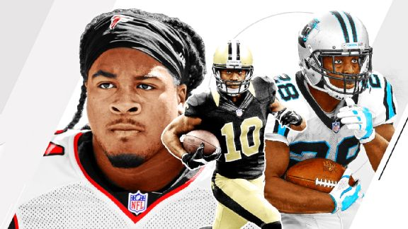 Barnwell's 5 NFC South moves: Panthers rebuild their backfield