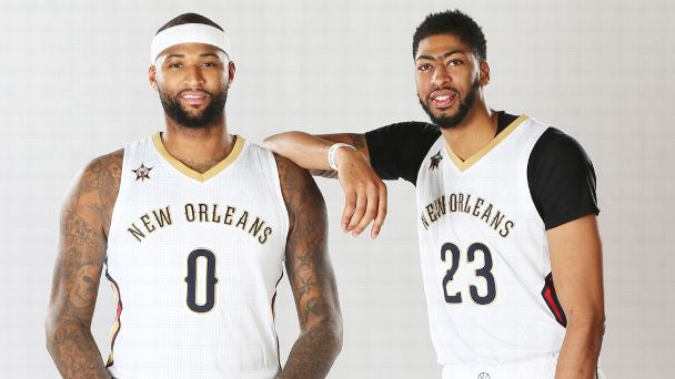 DeMarcus Cousins and Anthony Davis are the NBA's new 'Twin Towers'