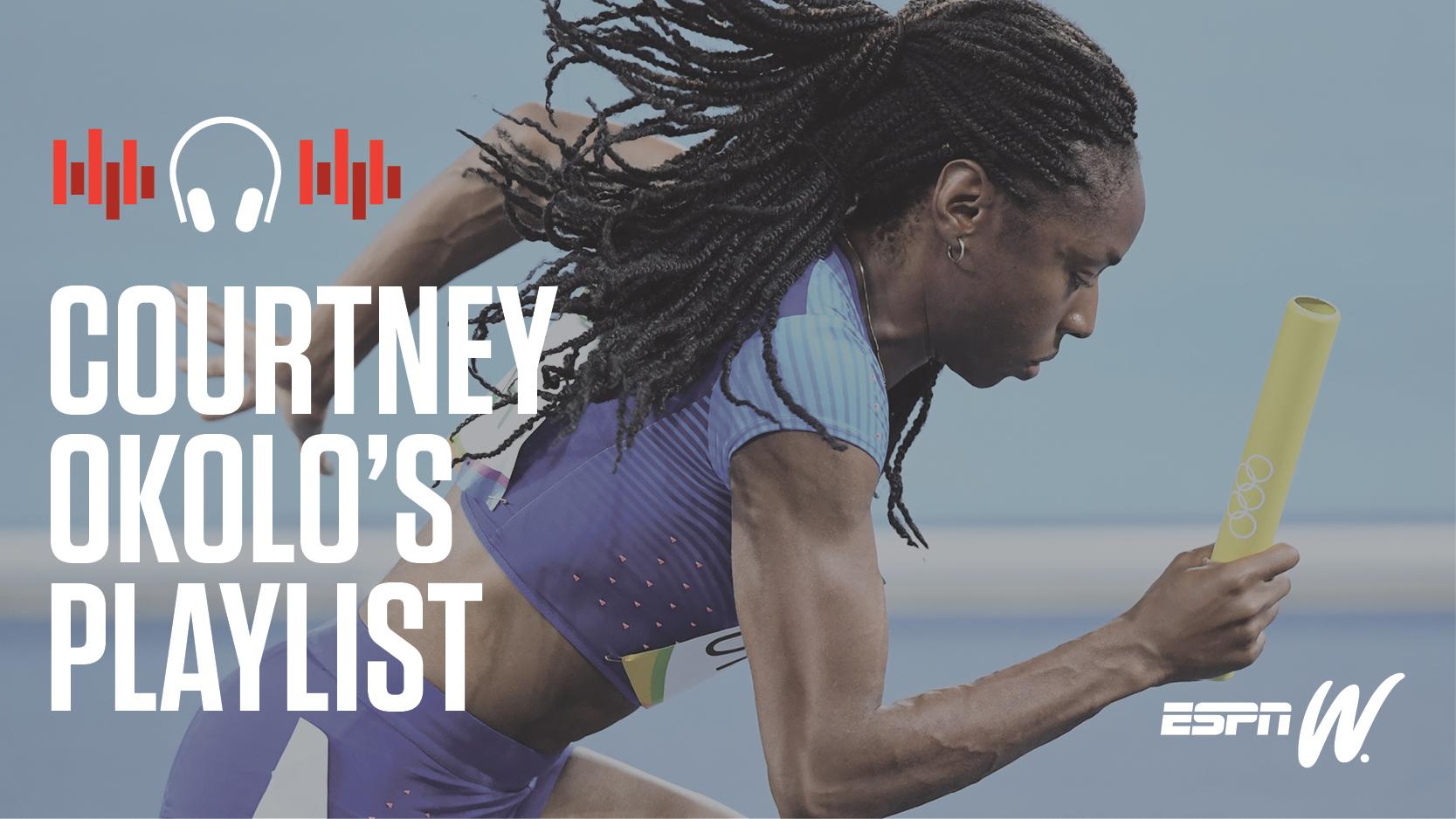 espnW Spotify Playlist - Courtney Okolo