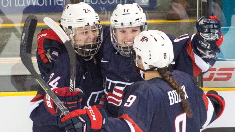 Despite having seven world titles, the U.S. women's hockey team is willing to sit out until it feels it has achieved fair change.