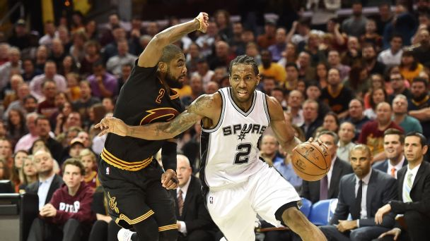 Kawhi Leonard and Kyrie Irving