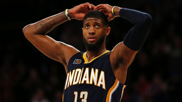 Paul George and the Pacers are hurtling toward a wild summer