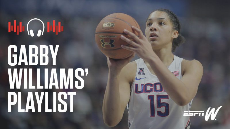 espnW Spotify Playlist - Gabby Williams