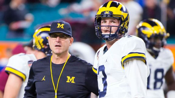 Jim Harbaugh, Wilton Speight