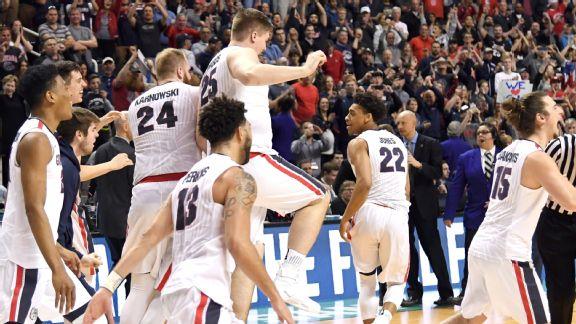 Gonzaga celebrates