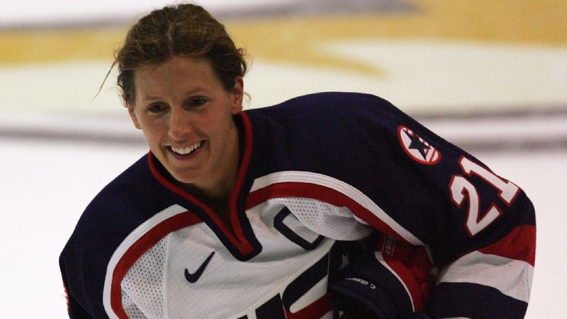 Cammi Granato was the first woman elected into the Hockey Hall of Fame (2010).