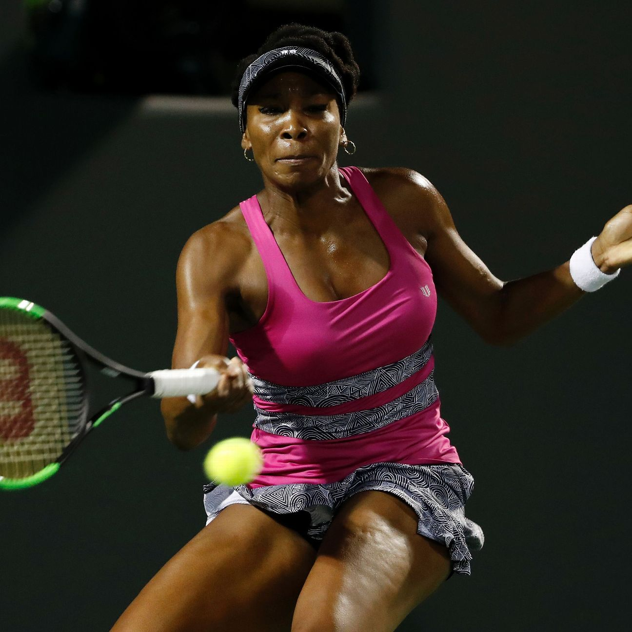 miami open tennis it took time but johanna konta eventually exploited venus wiliams 39 weakness. Black Bedroom Furniture Sets. Home Design Ideas