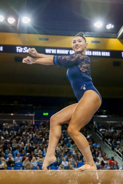 Going to college was something I had always planned for, says UCLA's Kyla Ross.