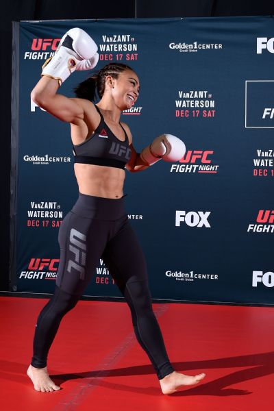 Michelle Waterson has a personality that outsizes her 5-foot-3 frame.