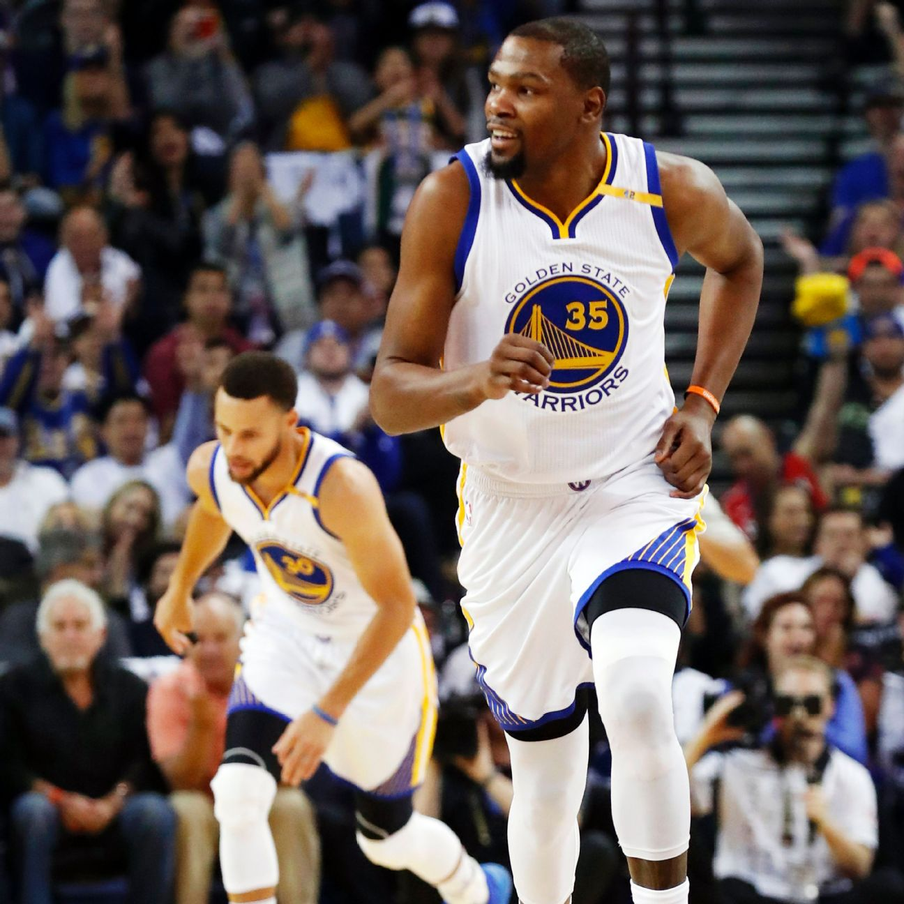Warriors Kevin Durant Injury Update: Kevin Durant Of Golden State Warriors Practices, Still