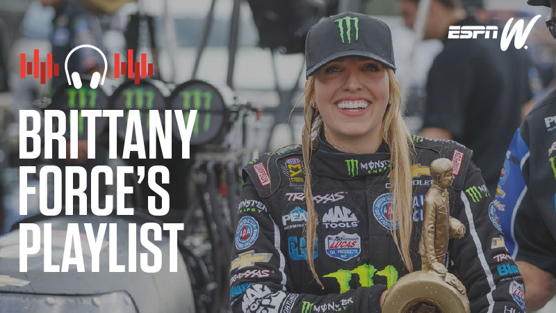 espnW Spotify Playlist - Brittany Force