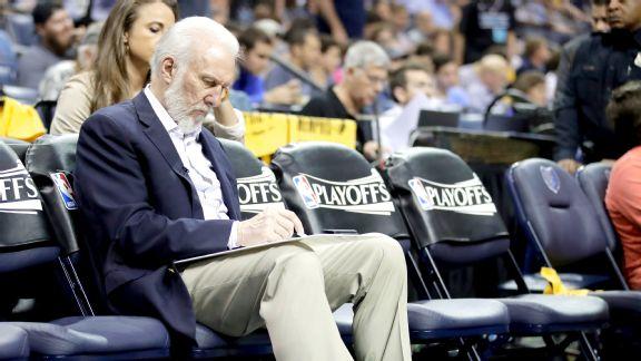 Greg Popovich the head coach of the San Antonio Spurs
