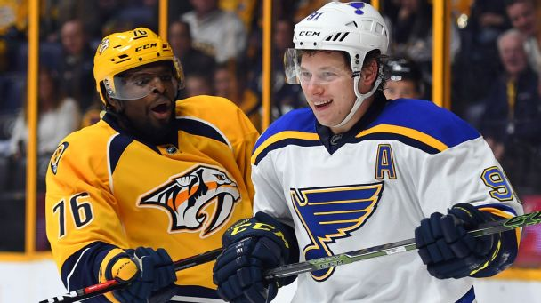 Follow live: Predators ahead of Blues early